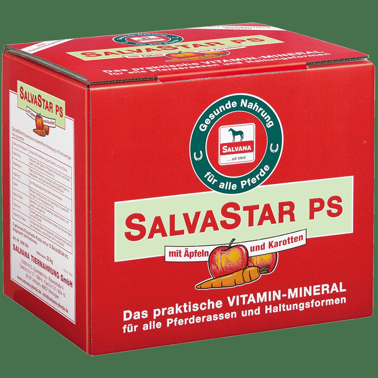SALVASTAR PS mit Äpfeln und Karotten